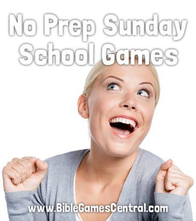 No Prep Sunday School Games