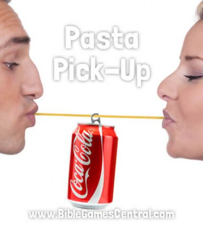 Pasta Pick-Up Youth Group Game