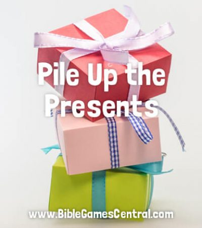 Pile Up the Presents Youth Group and Sunday School Game