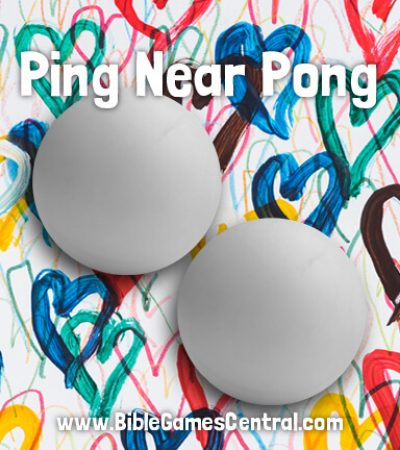 Ping Near Pong Youth Group Game