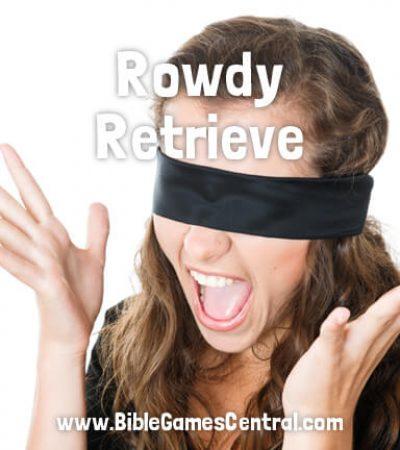 Rowdy Retrieve Youth Group Game