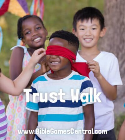Trust Walk Bible Game for Adults Youths Kids